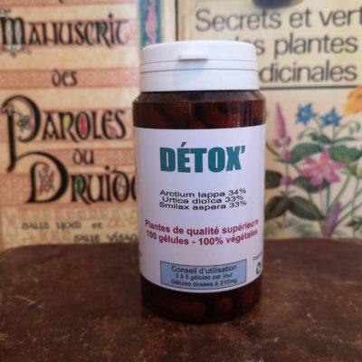 Détox 100 gélules
